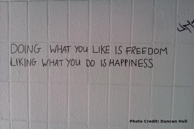 Freedom Happiness att